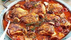 Poulet toscan à l'italienne