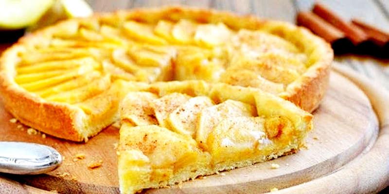 Gâteau aux pommes à la ricotta