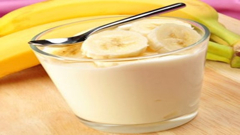 Crème fraîche à la Banane