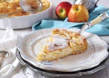 gâteau croquant aux pommes et yaourt