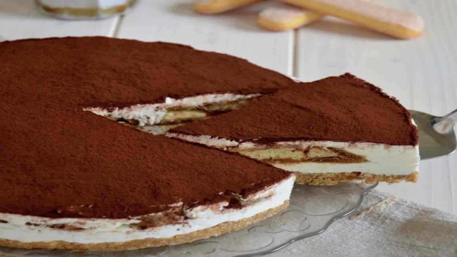 Cheesecake au tiramisu