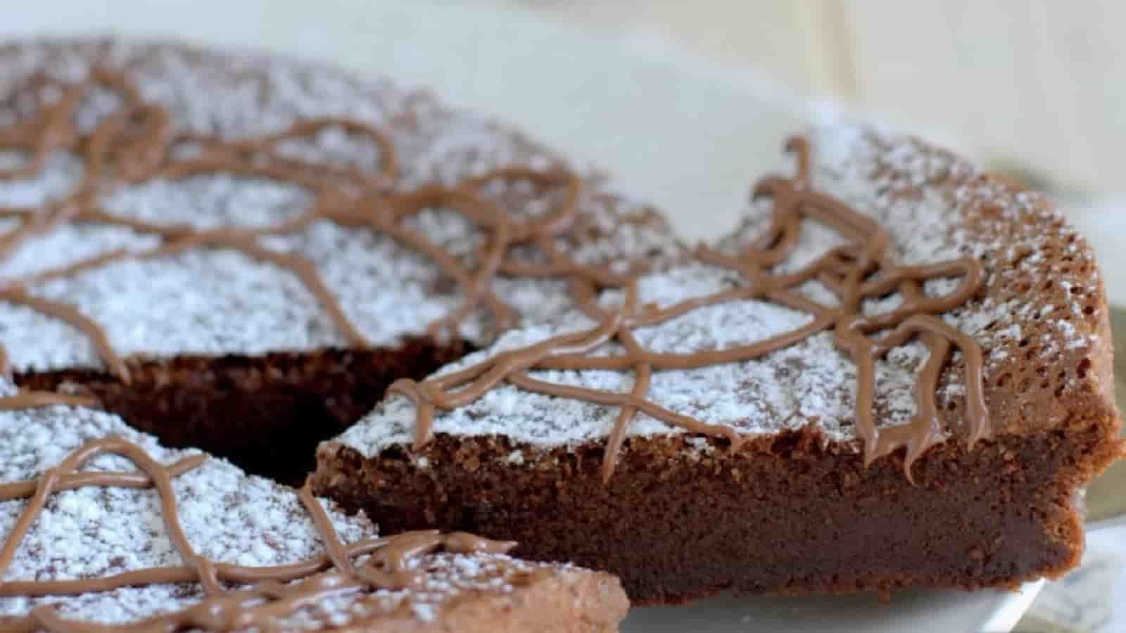 Gâteau au Nutella avec 2 ingrédients