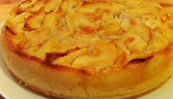 Gâteau aux pommes diététique