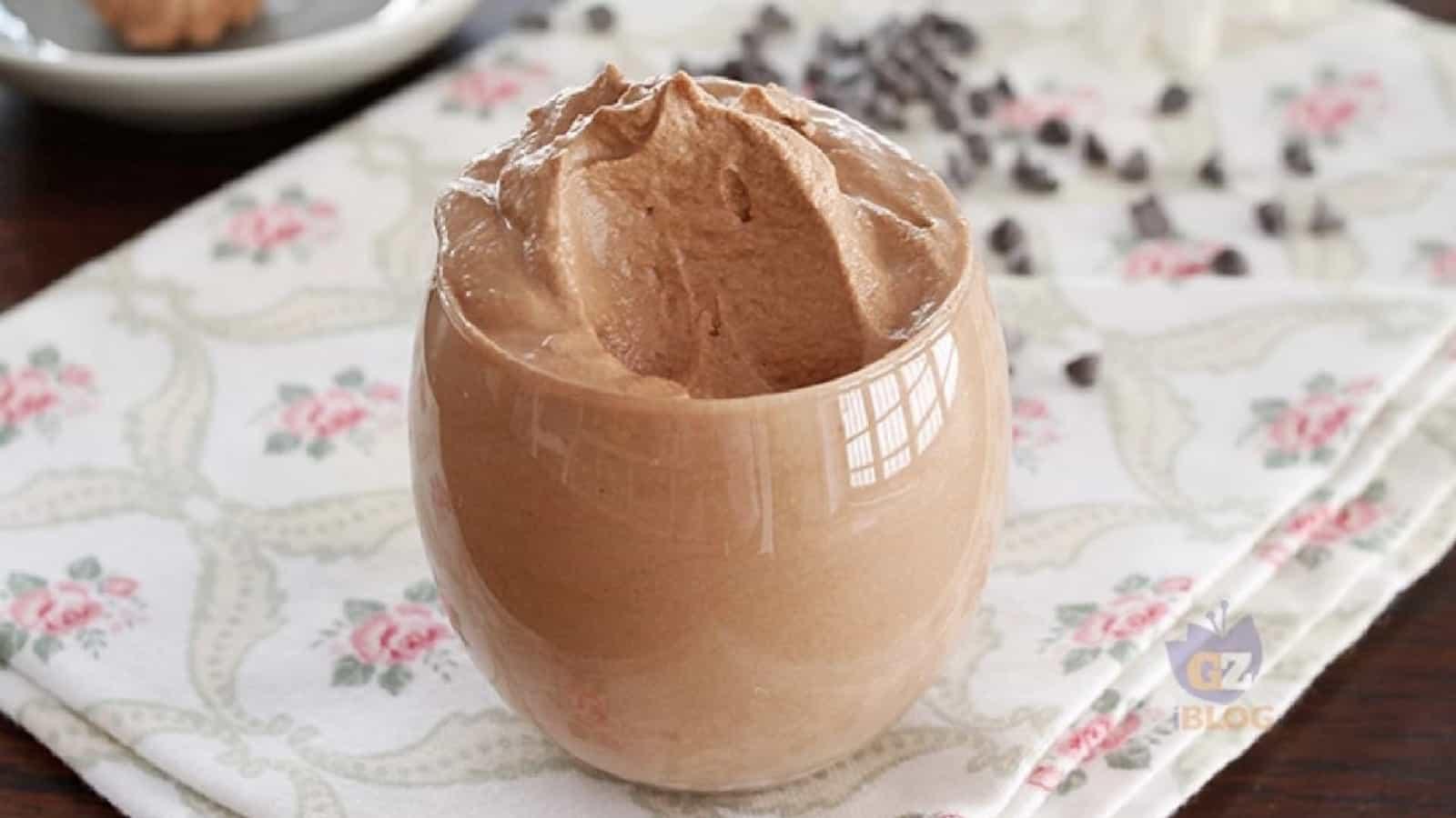 mousse au chocolat 2 ingrédients