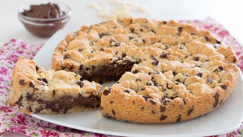 Gâteau aux biscuits Nutella