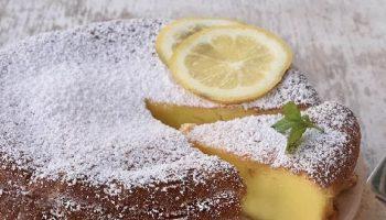 Gâteau ricotta et citron sans farine