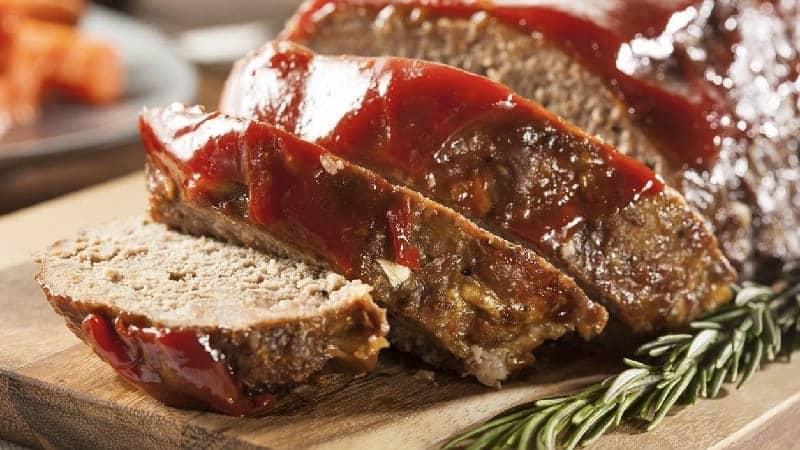 Pain de viande au thon et ricotta