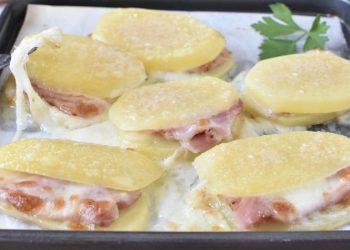 Pommes de terre farcies au parmesan