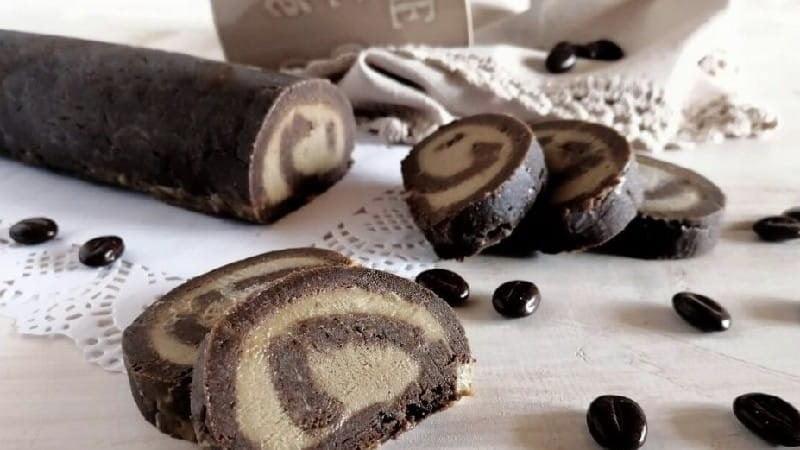 Rouleau de chocolat sans cuisson