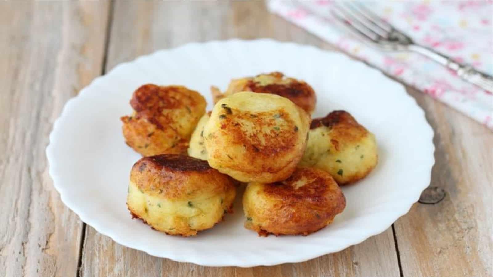 Boulettes de pommes de terre à la sicilienne