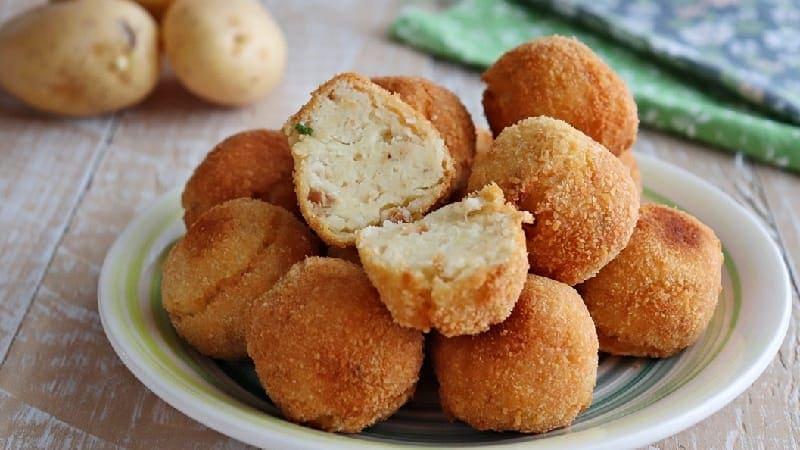 Boulettes de pommes de terre et de thon