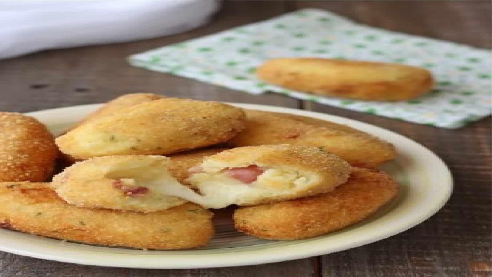Croquettes de pommes de terre et bacon