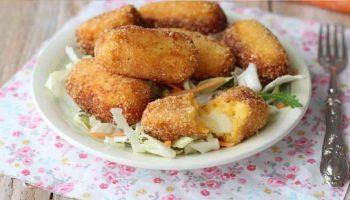 Croquettes de pommes de terre et carottes