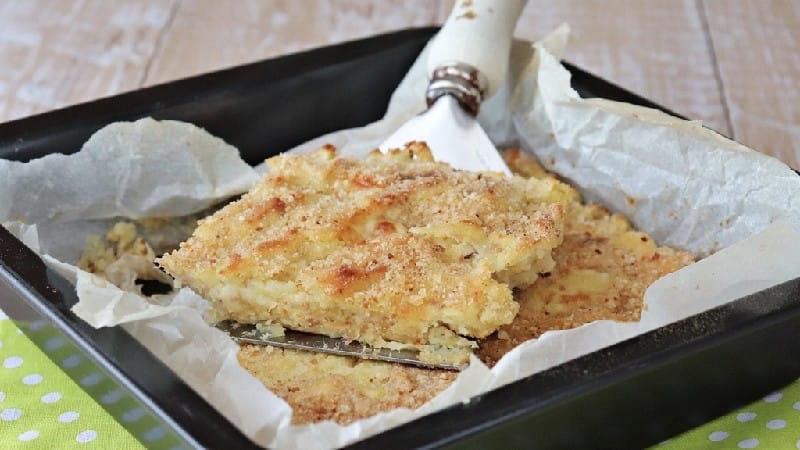 Flan de pommes de terre et thon au four