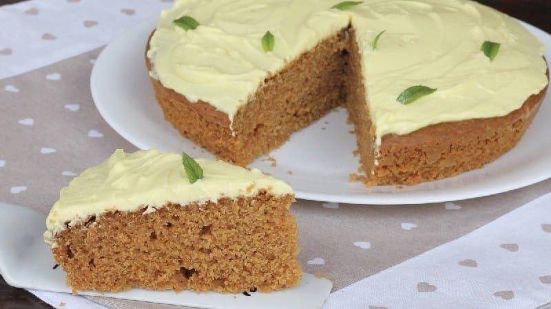 Gâteau biscuit au citron