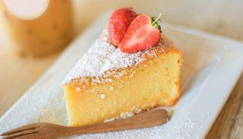 Le gâteau au citron sans farine