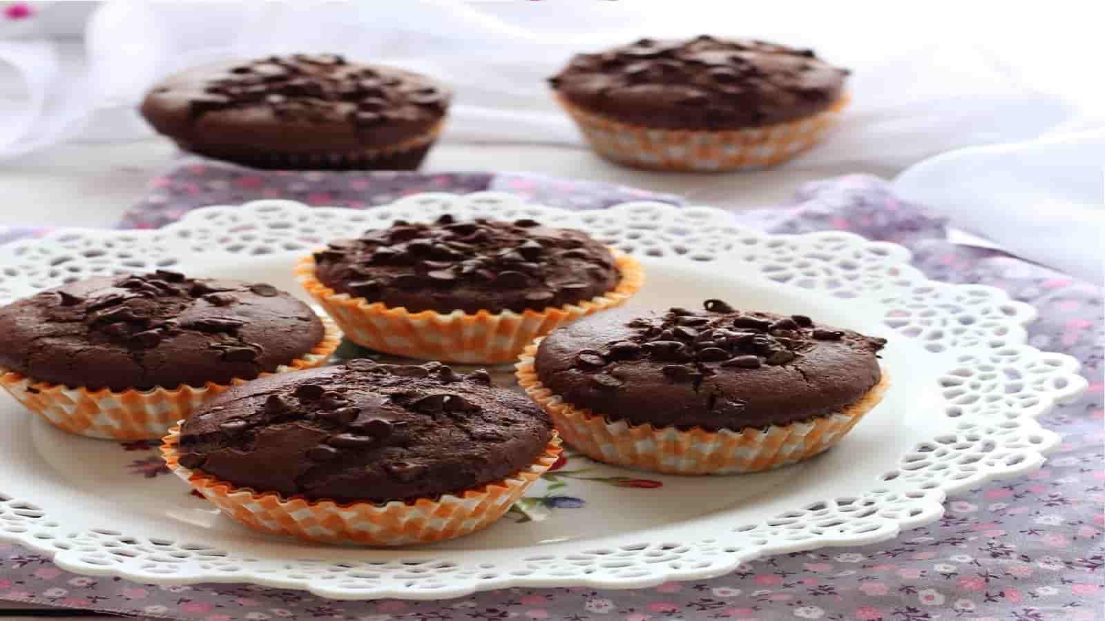 Muffins au chocolat super moelleux sans gluten