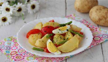 Salade de pommes de terre printanière