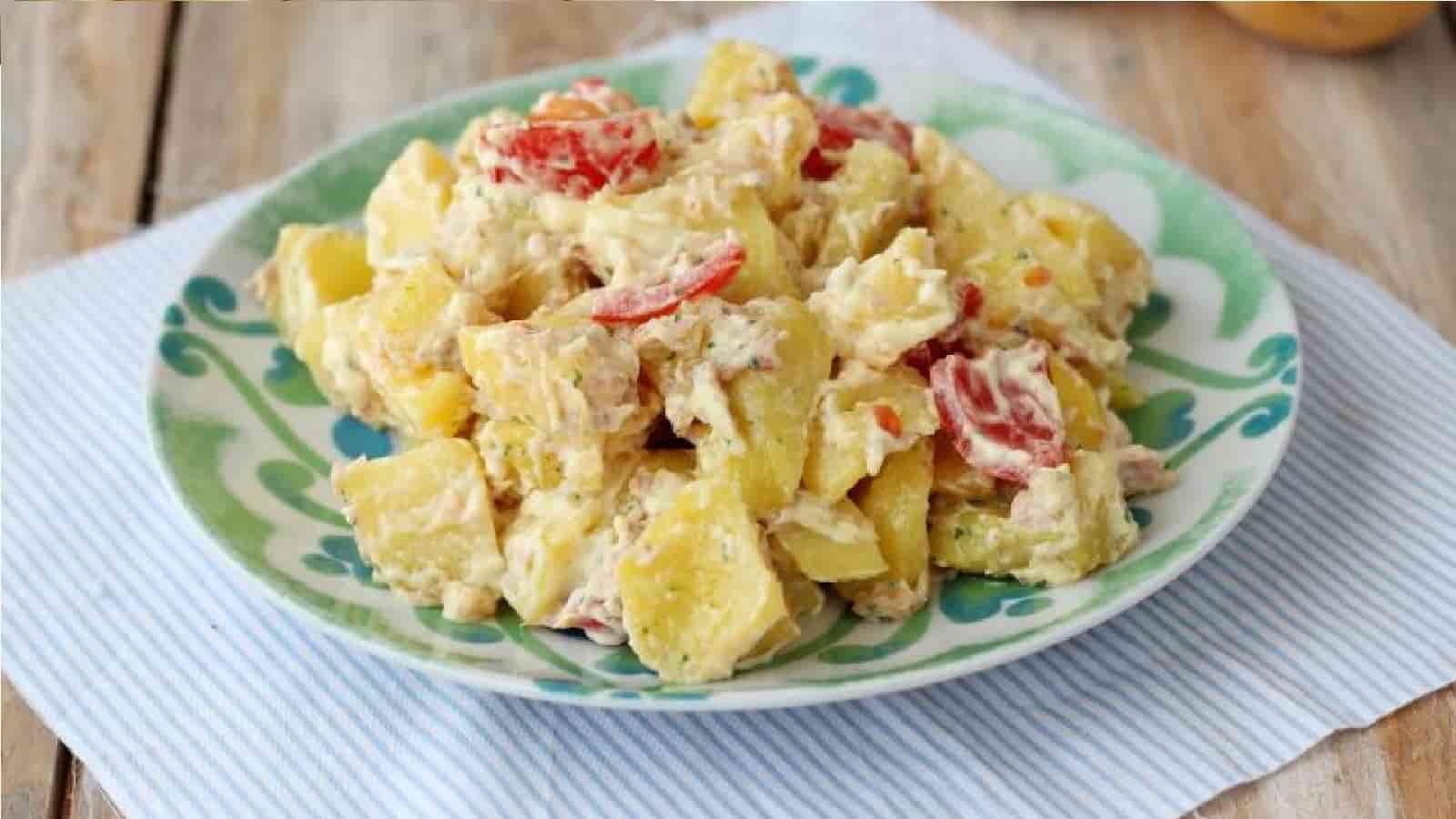 Salade de thon aux pommes de terre