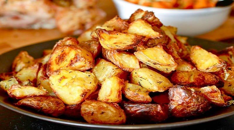 pommes de terre rôtie au four
