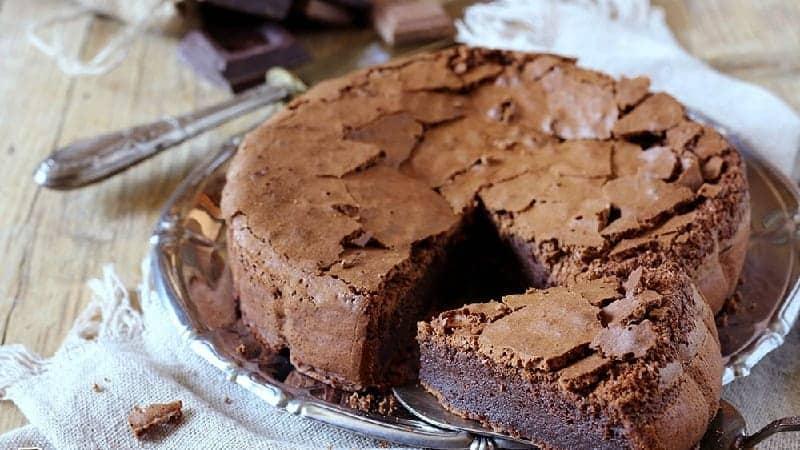 Gâteau moelleux aux deux chocolats