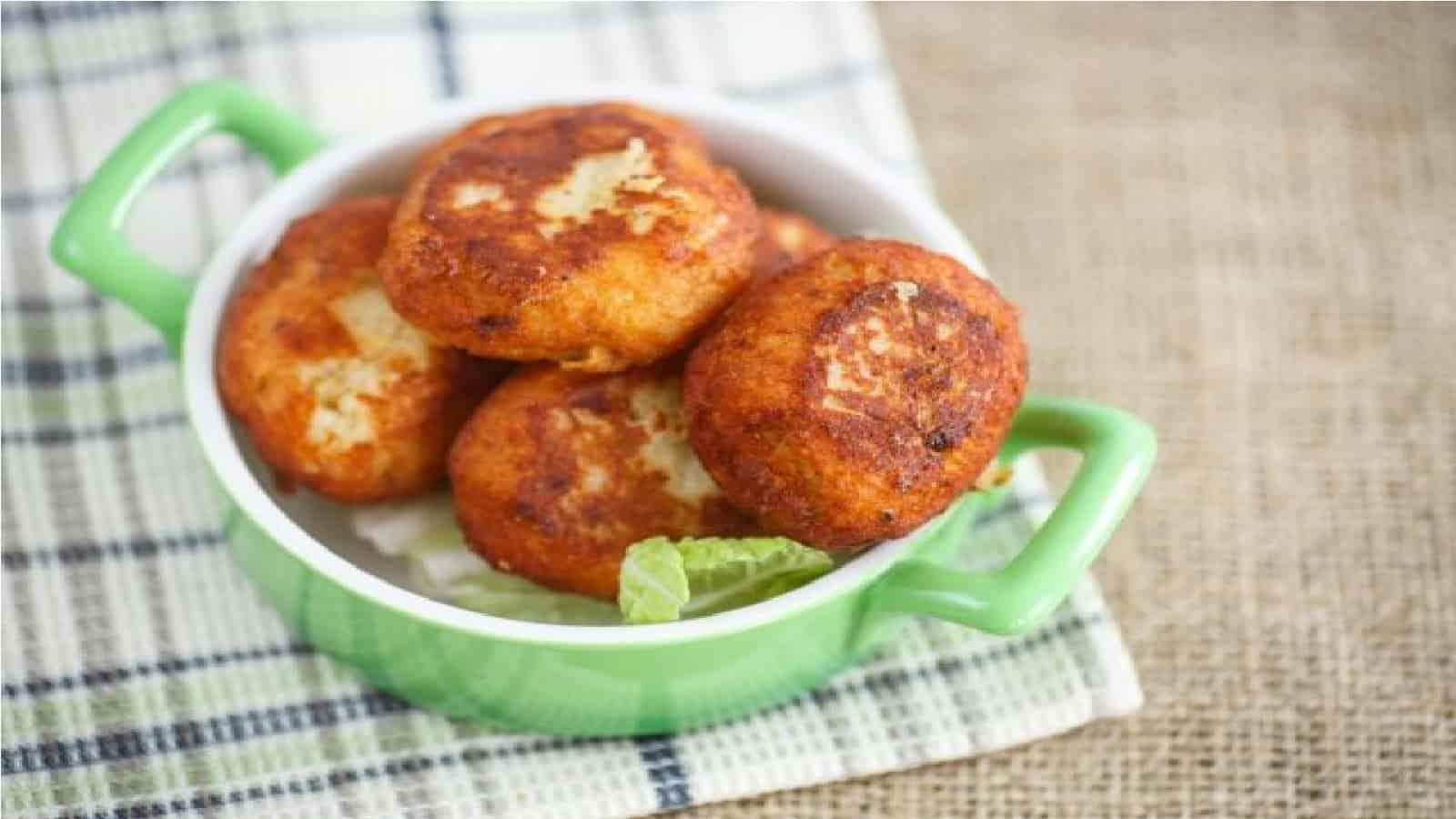 boulettes de viande de jambon cuit