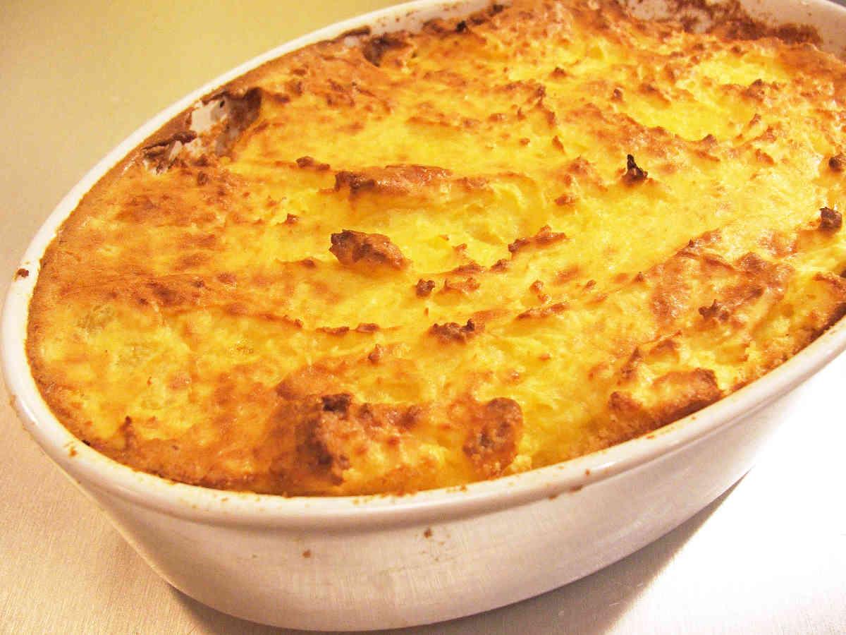 Gratin aux pommes de terre et thon