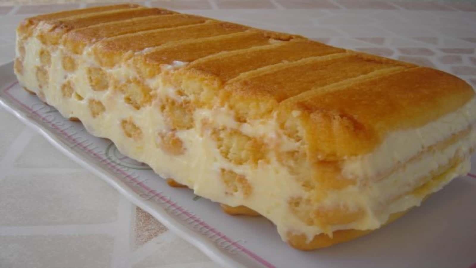 Dessert au citron sans cuisson