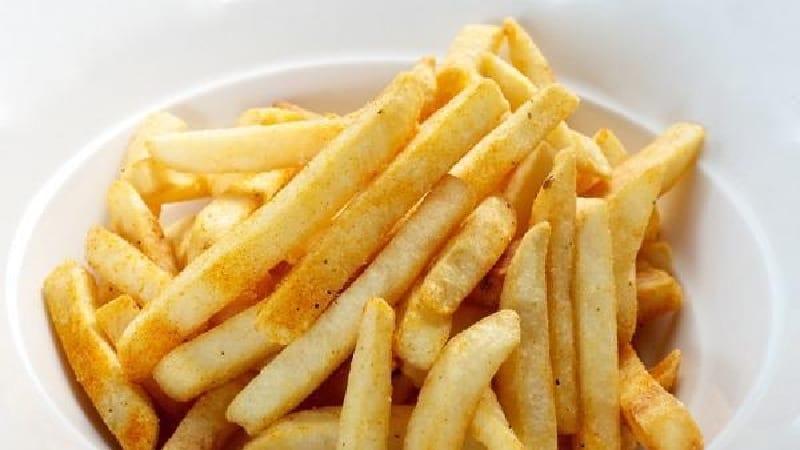 Frites cuites au four sans huile
