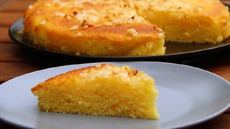 Gâteau fondant Léger au citron