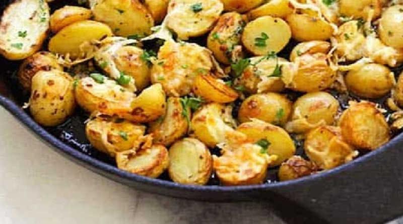 Pommes de terre charlotte sautées à l'italienne