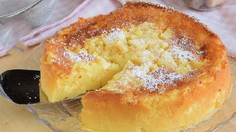 Succulente Tarte aux pommes crémeuse sans farine