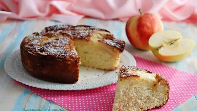 Tarte aux pommes moelleuse sans beurre ni huile