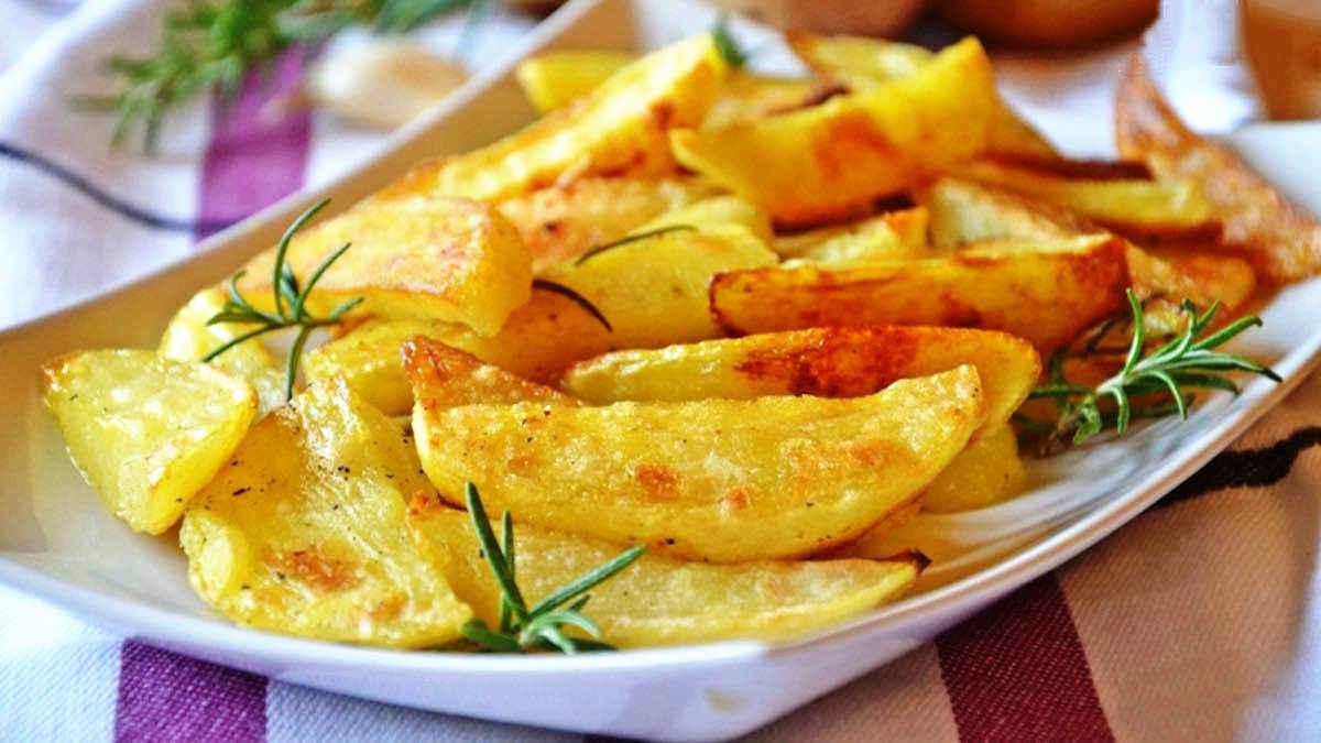 Pommes de terre au four ultra croustillantes