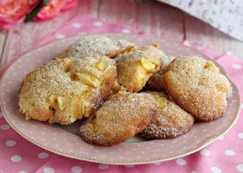 Biscuits aux pommes sans gluten