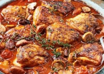 Recette de poulet à l'italienne