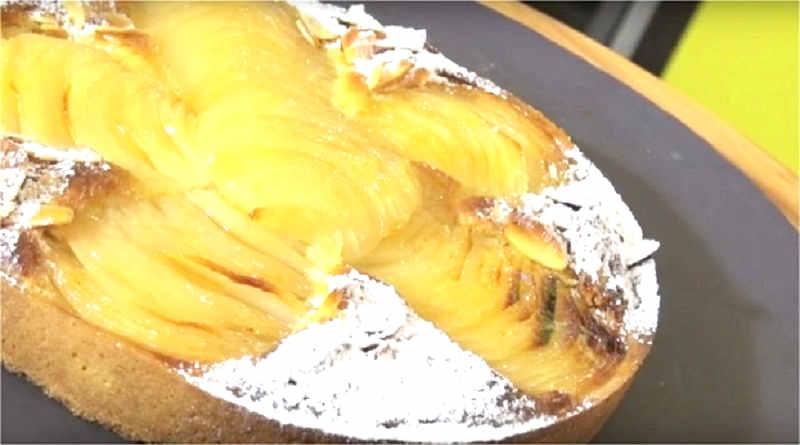 Fondant aux poires à la crème d'amandes