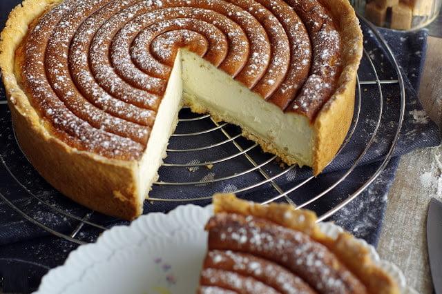 Tarte alsacienne au fromage blanc: