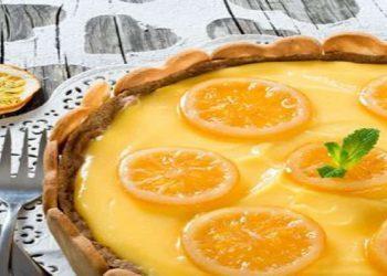 Flan pâtissier au citron